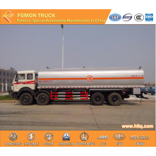 Beiben 8x4 liquid chemical transport tank truck 28000L