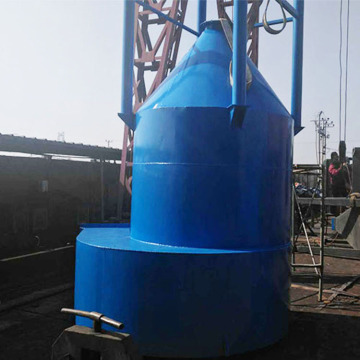Cyclone dust removal device for wood dust collector