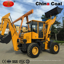 Wz25-20 Backhoe Wheel Rock Loader with Variable Speed
