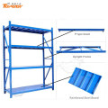 Powder coated widely used steel lowes storage shelves