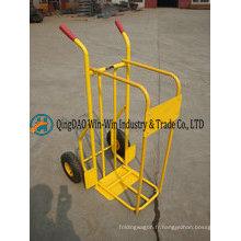 Chariot de jardin de support de bois de chauffage résistant