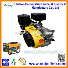 BT188F GX390 389CC 13HP Recoil Moteur à essence électrique