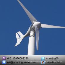 Bauernhof mit Wind Solar Generator Power Supply System
