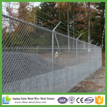 Venta al por mayor de alta tensión galvanizado cerca de la cadena de enlace para el patio de recreo