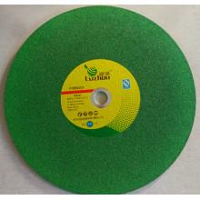 Molettes de coupe couleur verte 355X2.5x25.4mm