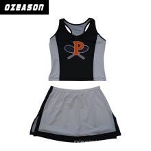 Polyester Spandex Netball Dress for Women