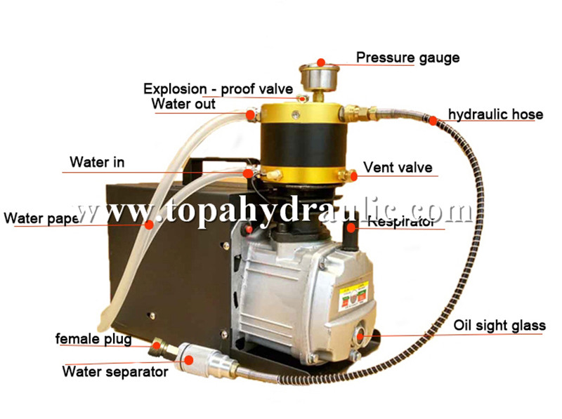 kompresor high pressure air compressor 4500psi