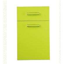 Portes brillantes d'armoires de cuisine en peinture UV (personnalisées)