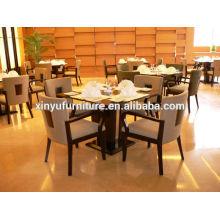 Chaise et table à bois en bois XY0788