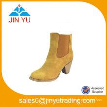 Side Elastic Core Cheap Comfortable High Heel Boots