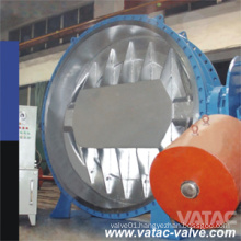 High Performance Counter Weight Flanged Butterfly Valve