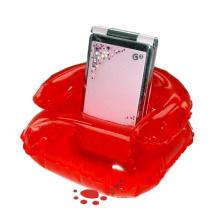 Красный надувной мобильный держатель игрушки