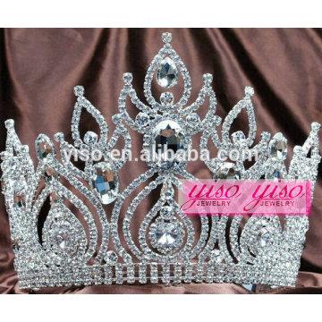 hair accessories princess hair piece custom party silver king crown