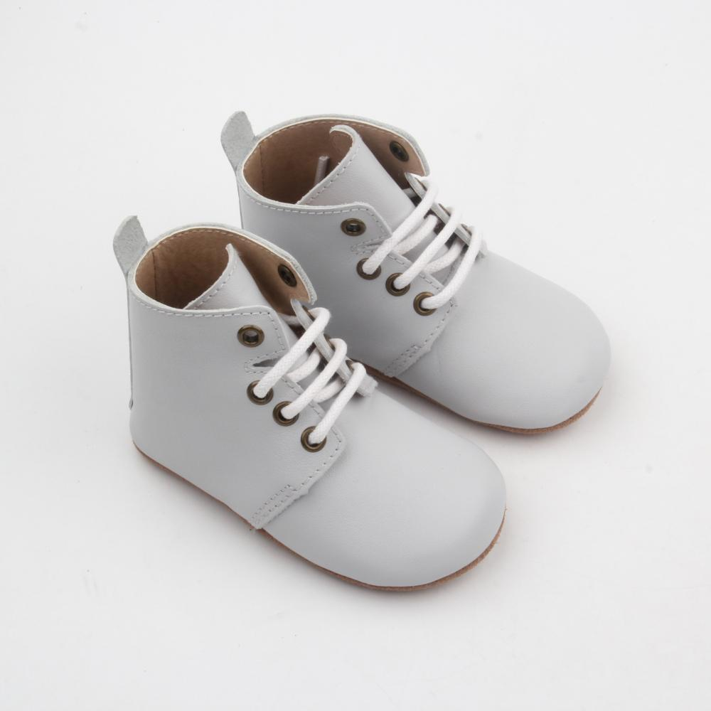 Soft Sole Safety Boots Leather Shoes