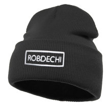 Promotional beanie with embroidery logo on front//custom made high quality organic beanies