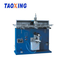 CE Semi Auto Trash cylindrical screen printer