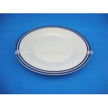 Cocina moderna de diseño de lujo de la placa de cerámica de la ronda