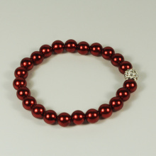 OEM Supplier for Pearl Bead Bracelet,Glass Bead Bracelet,Beaded Bracelets For Women Manufacturer in China Enthusiasm Red Pearl Bracelet supply to Japan Factory
