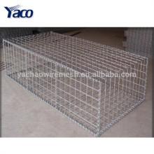 Гальванизированная квадратная сетка корзины gabion ячеистой сети 6мм