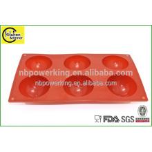 Round Silicone fondant cake baking tools