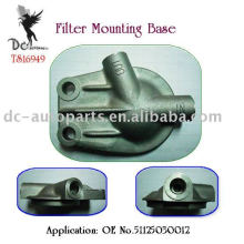 Aluminum Alloy Die Casting for Remote oil filter mounting base