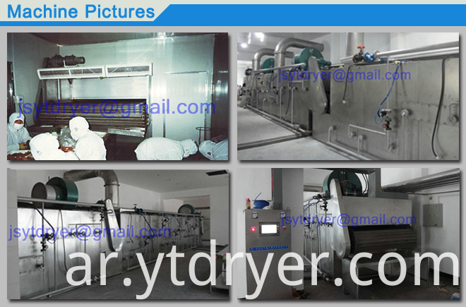 Belt Dryer for Short Bar Product