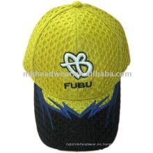 Sombrero de la gorra de béisbol de la manera con el bordado