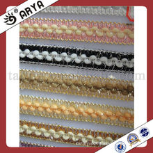 Sliver lace tassel curtain fringe lace trims