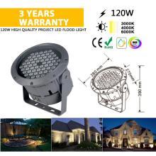 Lámpara de inundación de luz exterior IP68 24V Light 120W