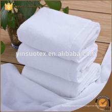 Toalha branca grossa do algodão, toalha do hotel do fornecedor do hotel do hotel