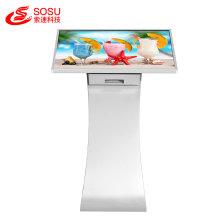 Écran tactile de kiosque de publicité debout de plancher de 32 pouces