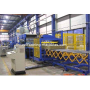 Eps Sandwich Panel Production Line, Rockwool Sandwich Panel Line For Roll Forming Machine
