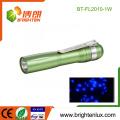 Factory Bulk Sale OEM Pocket 1*AA battery Used 385nm Pet Urine Detection 1watt UV led Flashlight mini
