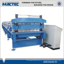 Petit pain de feuille de toiture de double couche à grande vitesse formant la machine