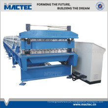 High speed double layer roofing sheet roll forming machine
