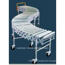 FZA-38-45x4 Flexible Single Roller Conveyor