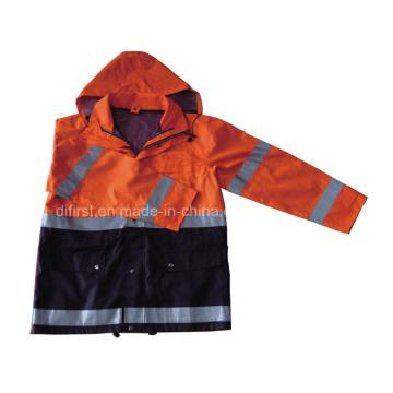 Capa de seguridad / abrigo de Parka (DPA025)