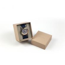 Caja de embalaje de papel del reloj de lujo con el tenedor del parte movible
