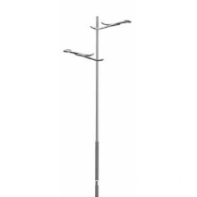 Double arm light pole lighting pole