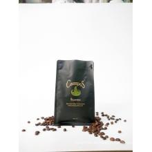 Bolsa de café negra mate