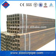 Vente chaude 2016 nouveaux produits q195 tube carré en acier galvanisé
