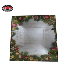 Festival Plastic Charger Plate with Printing