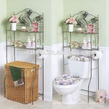 Vivinature Bathroom Spacesaver Handtuchhalter, Badregal mit Verchromung