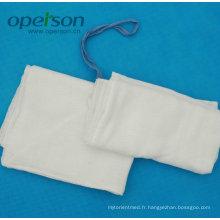 Éponge de laparotomie jetable avec Ce et ISO approuvé