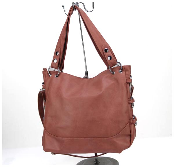 Brow Leather Cross Body Handbag