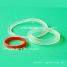 Joint torique en caoutchouc liquide de silicone de catégorie médicale, joint torique de LSR