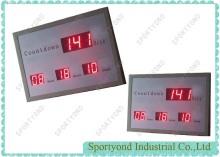 MENYEBABKAN waktu jam digital elektronik yang mempamerkan papan hari