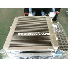 Trocador de calor do óleo do ar para o compressor do parafuso de ar