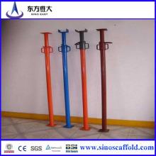 1-8m Accessoires d'acier à échafaudage ajustable
