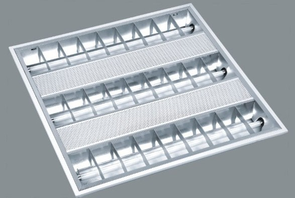 grille lamp louver fitting